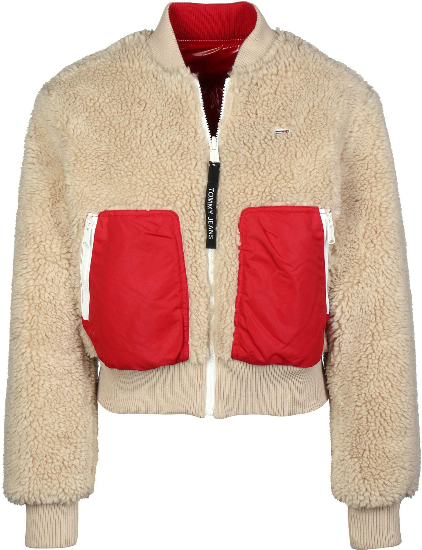 Tommy Jeans Reversible Sherpa Bomber Jakke