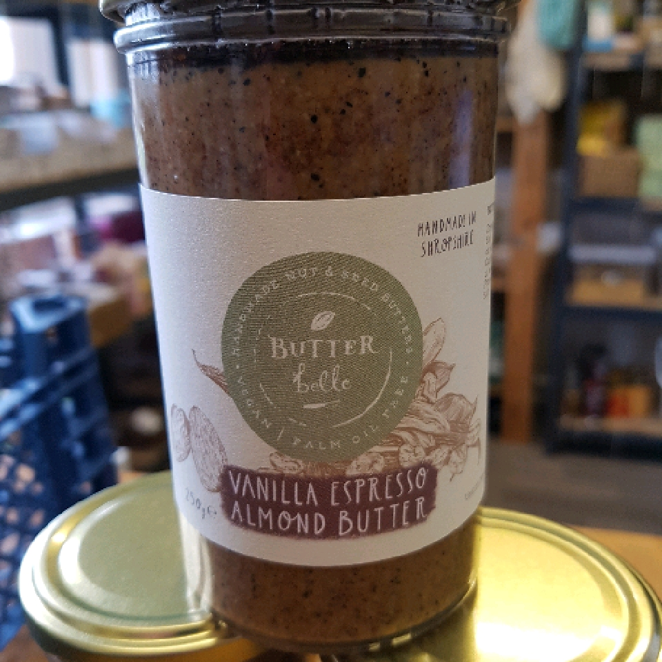 Vanilla Espresso Almond Butter - 250g