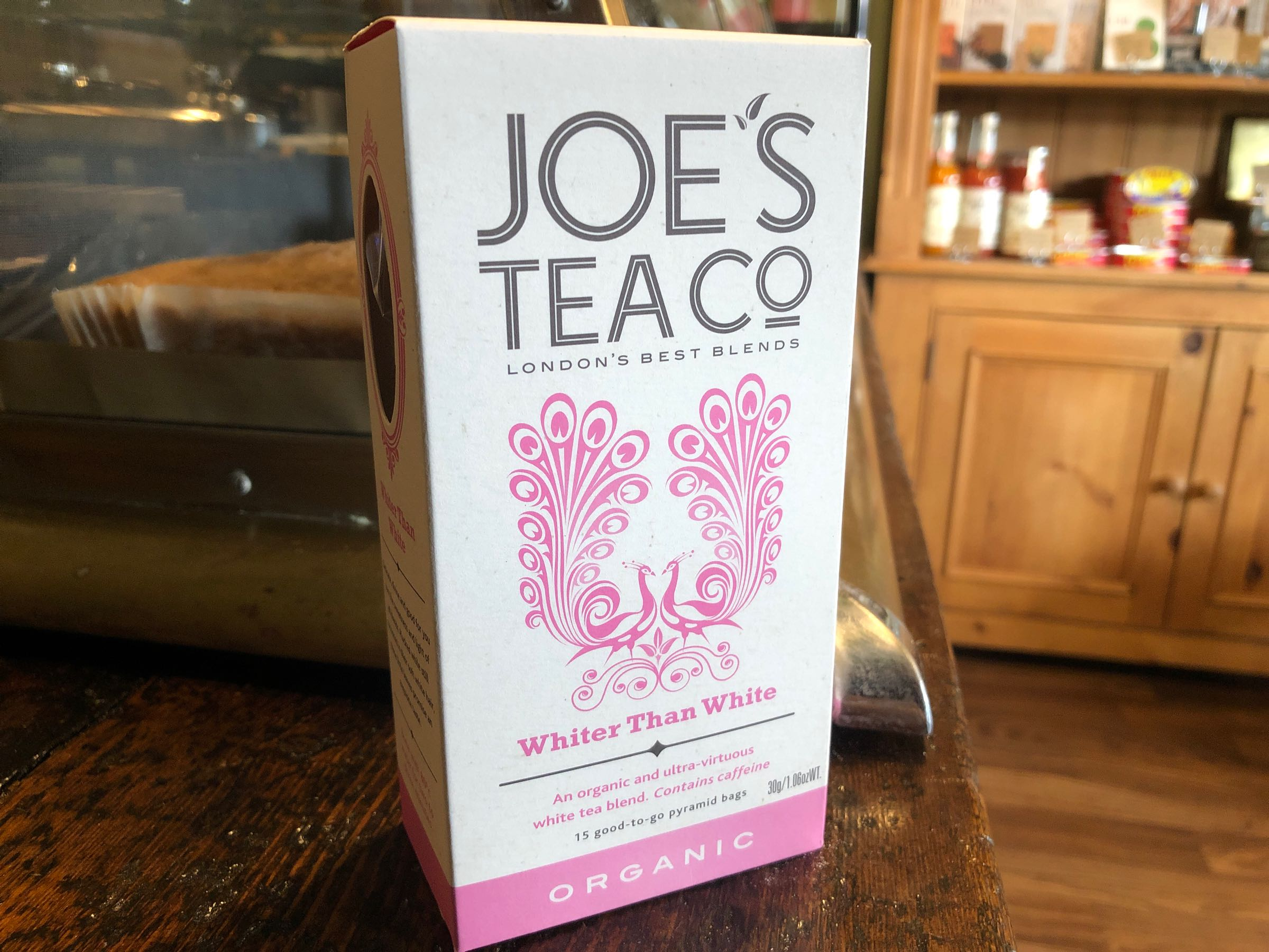 Joe's Tea Co. Whiter than White - Organic