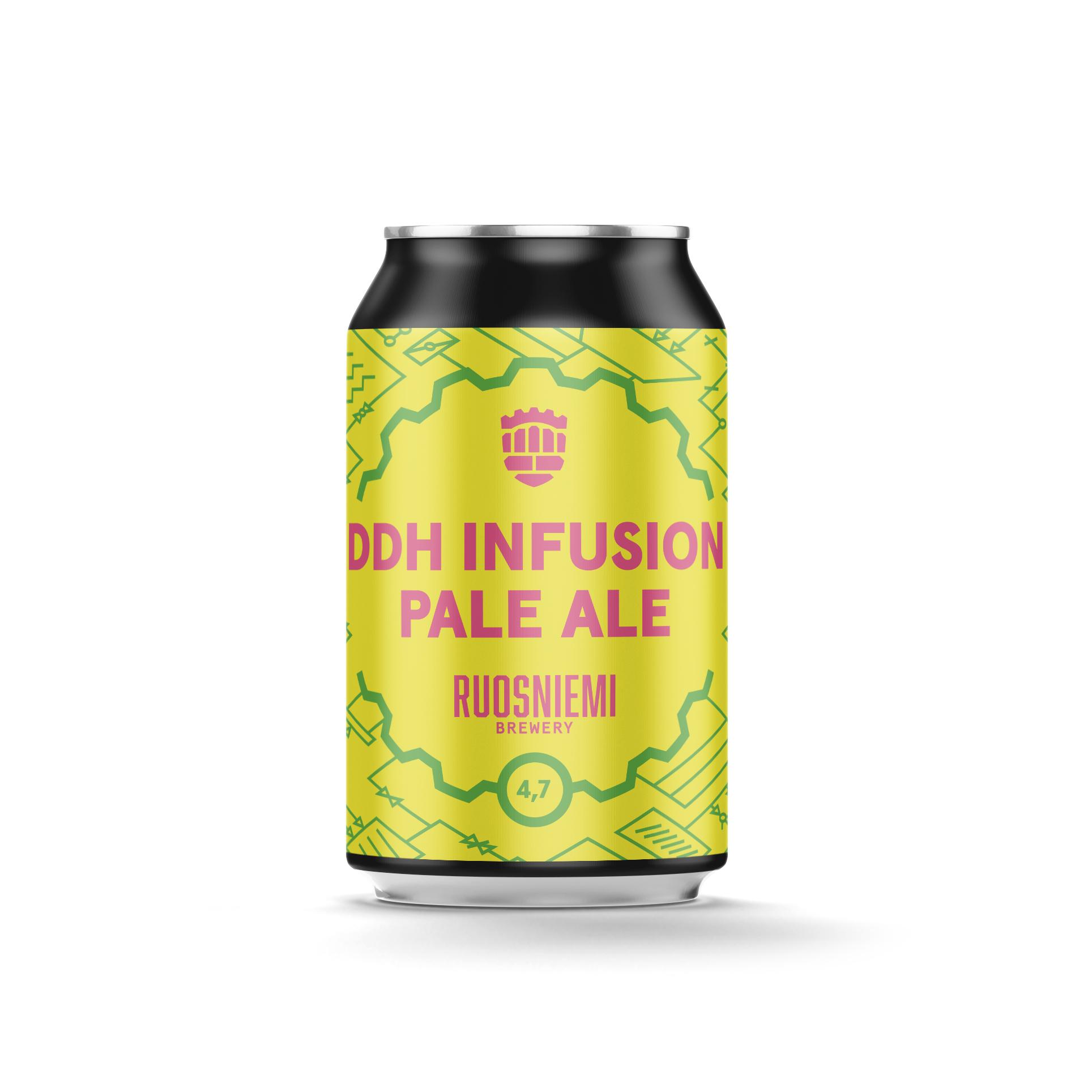 DDH Infusion Pale Ale 4,7% 0,33 l