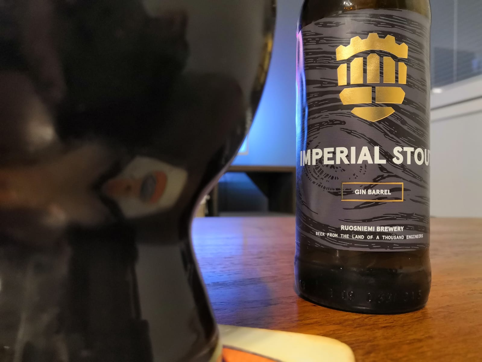 Imperial Stout Gin Barrel 0,33l 10%