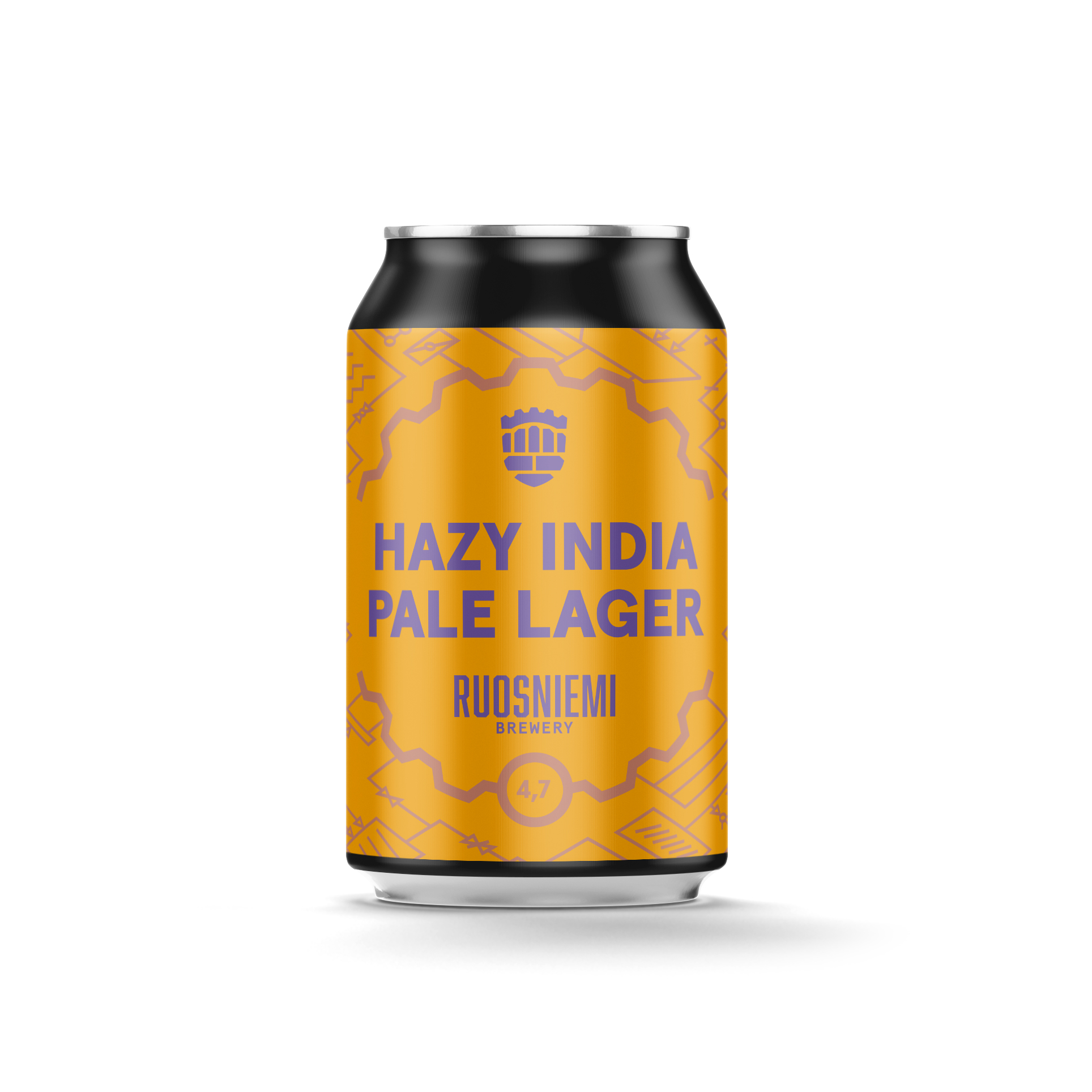Hazy India Pale Lager 5,5 til % - 0,33 l