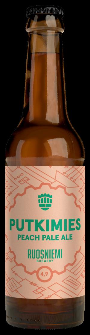 Putkimies Peach Pale Ale 0,33l 4,9%