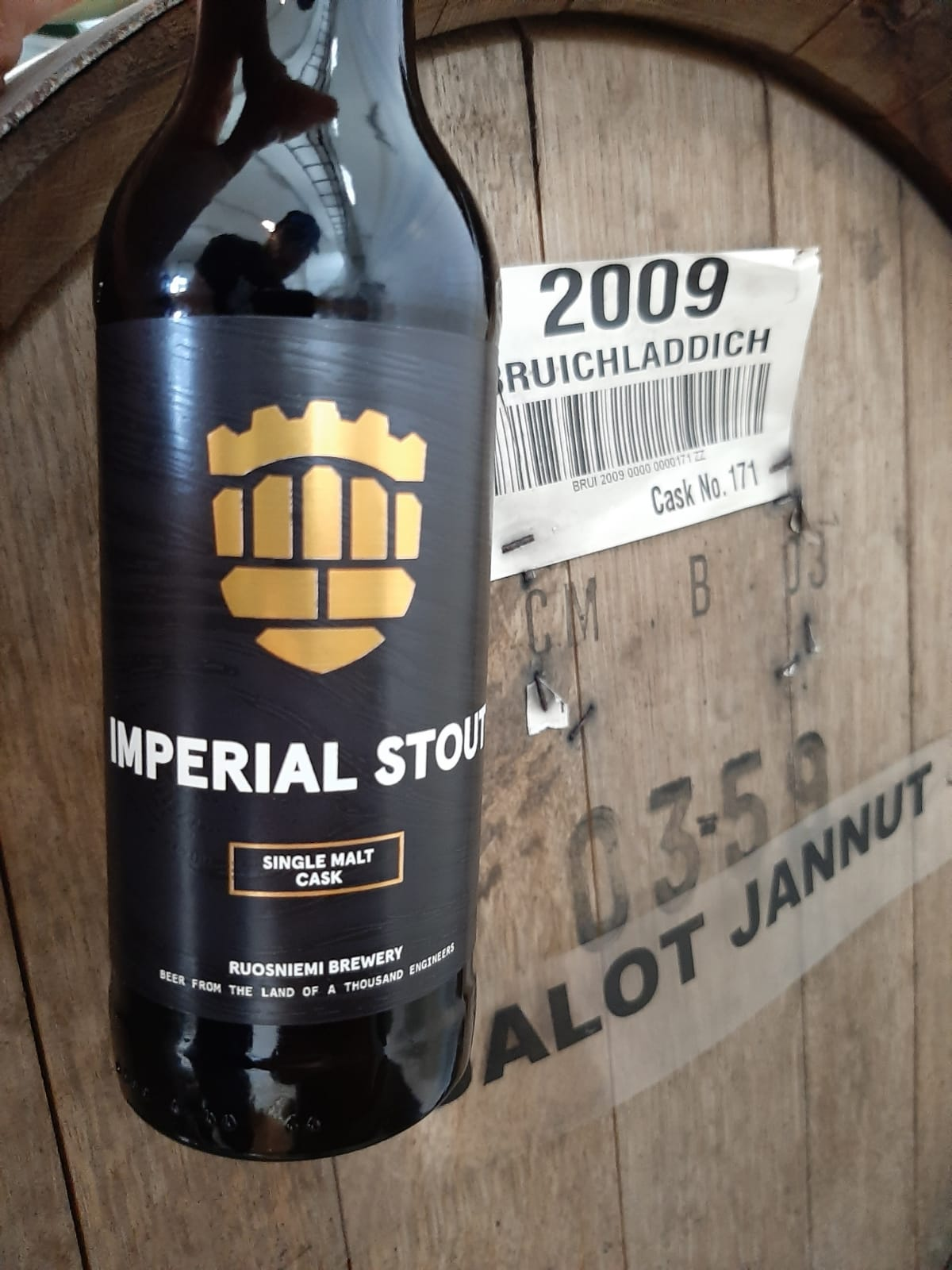 Imperial Stout Single Malt Cask 2019 - 0,33 l lasipullo