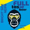 Hki - Full Taste #010 Bright Side Neipa  5,2 % 0,33 l tlk