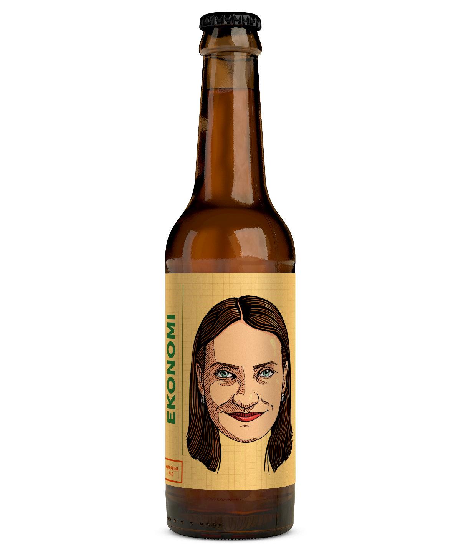 Ekonomi Mandarina Pils 5,2 % 0,33 l pullo
