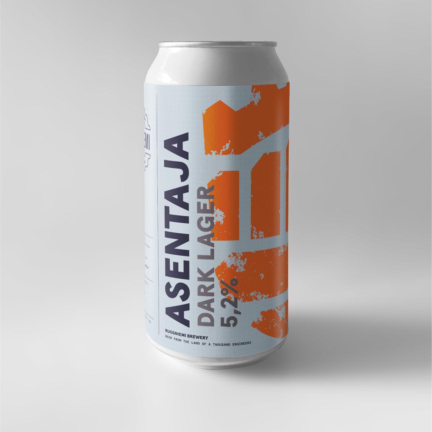 Hki - Asentaja Dark Lager 0,5l 5,2% tlk
