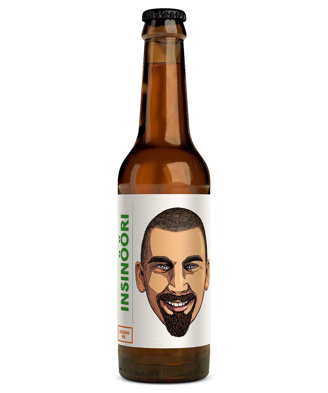 Insinööri IPA 4,7 % 0,33 l pullo