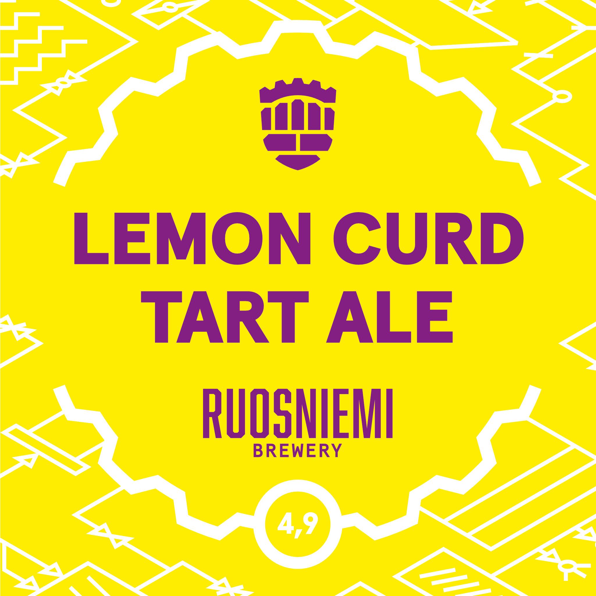 Hki - Lemon Curd Tart Ale 0,33l 4,9% tlk