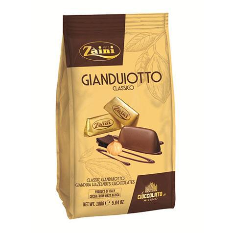 Zaini Gianduiotti Classico Hazlenut Milk Chocolates 160g