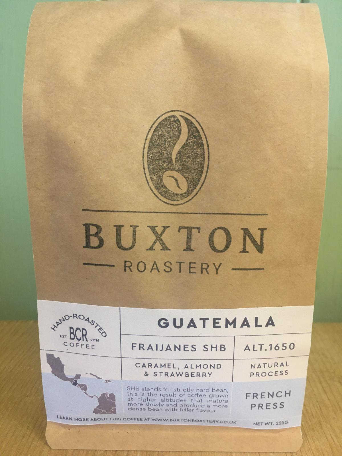 Buxton Roastery Coffee - Guatemala Fraijanes SHB 225g