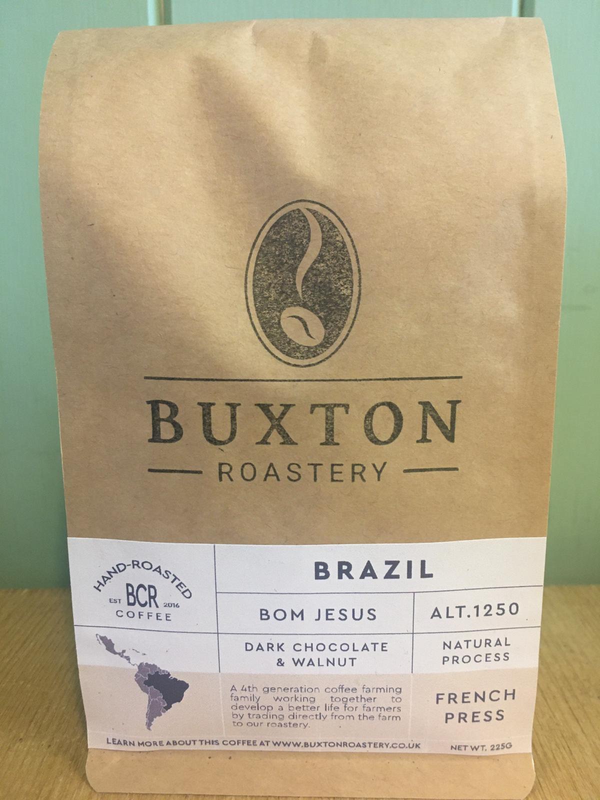 Buxton Roastery Coffee - Brazil Bom Jesus 225g
