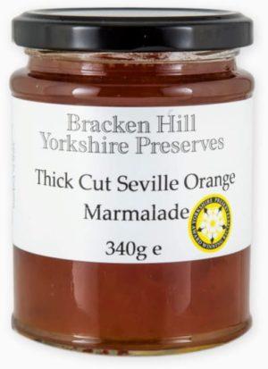 Bracken Hill Yorkshire Preserves - Thick Cut Seville Orange Marmalade  340g
