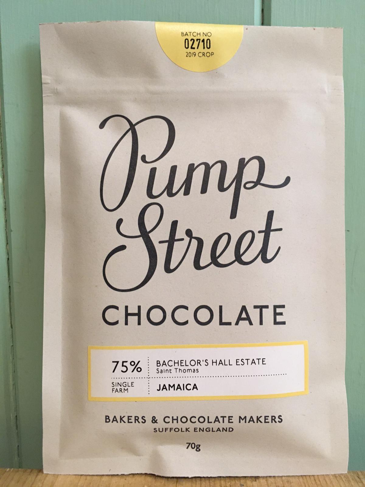 Pump Street Chocolate - Jamaica 75% Dark Chocolate Bar 70g