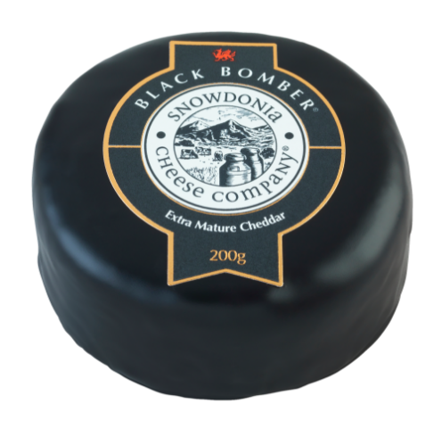 Snowdonia Cheese Company - Black Bomber (Extra Mature Cheddar)