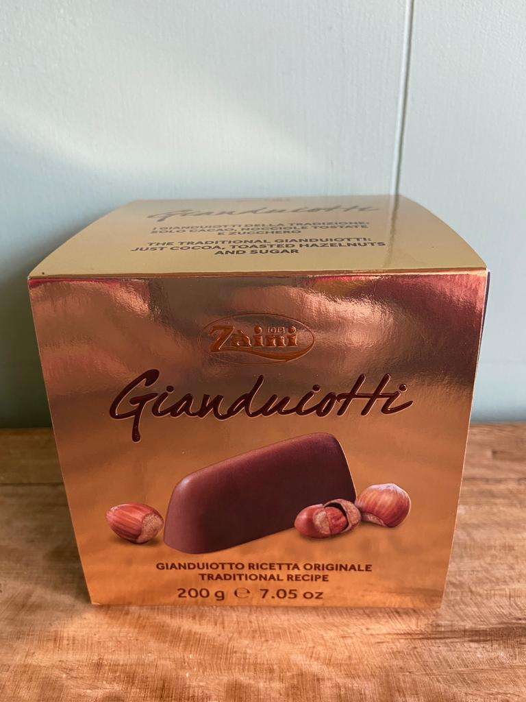 Zaini Gianduiotti Hazelnut Chocolates 200g