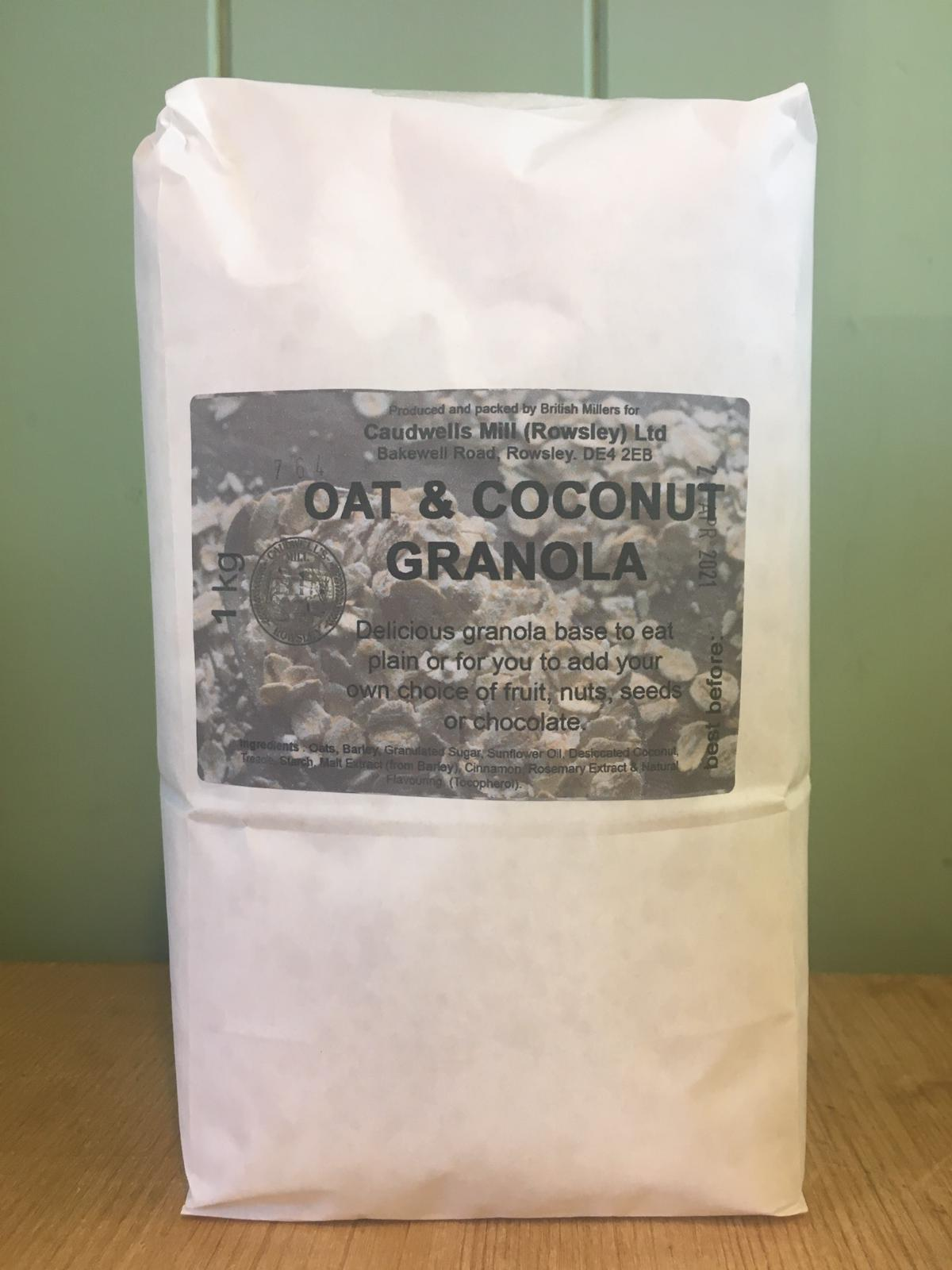 Caudwell's Mill - Oat & Coconut Granola 1kg