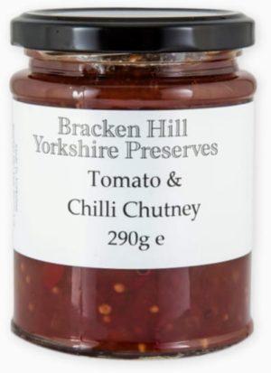 Bracken Hill Yorkshire Preserves - Tomato & Chilli Chutney 290g