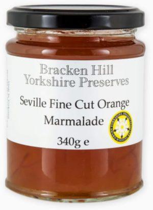 Bracken Hill Yorkshire Preserves - Seville Fine Cut Orange Marmalade 340g