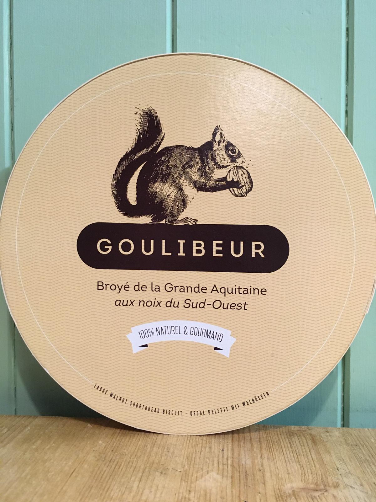 Goulibeur Broye de la Grande Aquitaine aux Noix du Sud-Ouest (Large Shortbread with French Walnuts) 280g