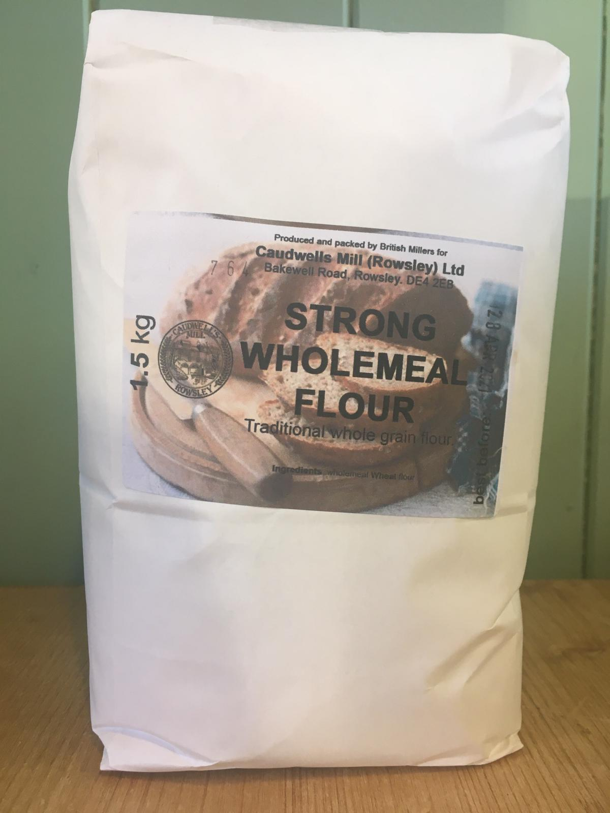 Caudwell's Mill - Strong Wholemeal Bread Flour 1.5kg