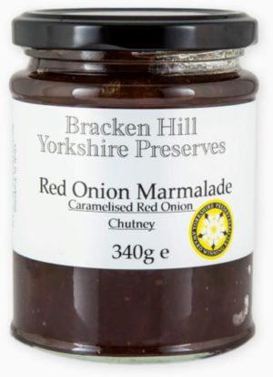 Bracken Hill Yorkshire Preserves - Balsamic Red  Onion Marmalade  Chutney 340g