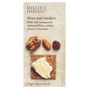 Miller's Harvest - Three Nut Crackers 125g