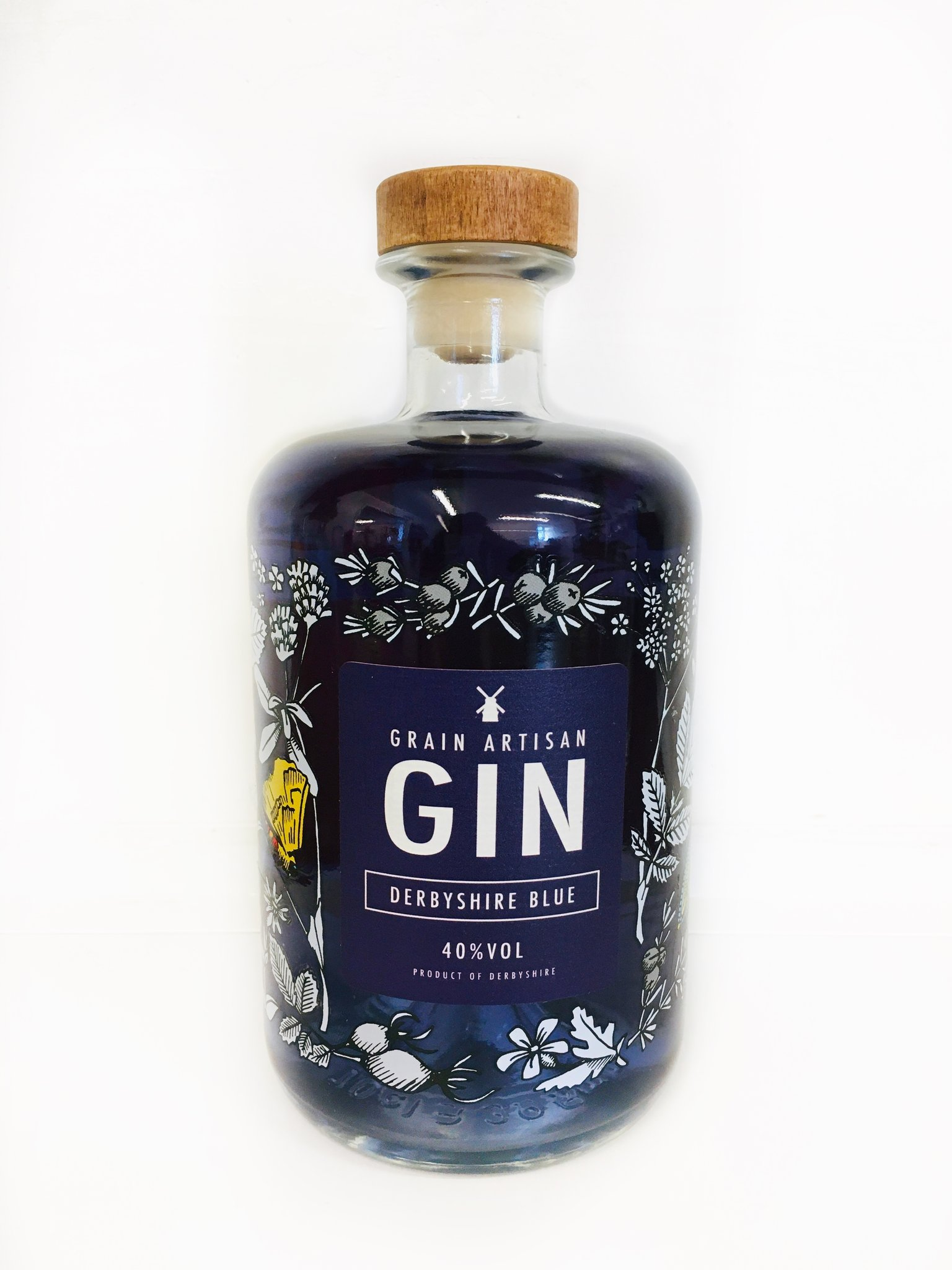 Grain Artisan Derbyshire Blue Gin 20cl