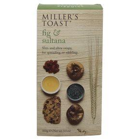 Miller's Toast - Fig & Sultana 100g