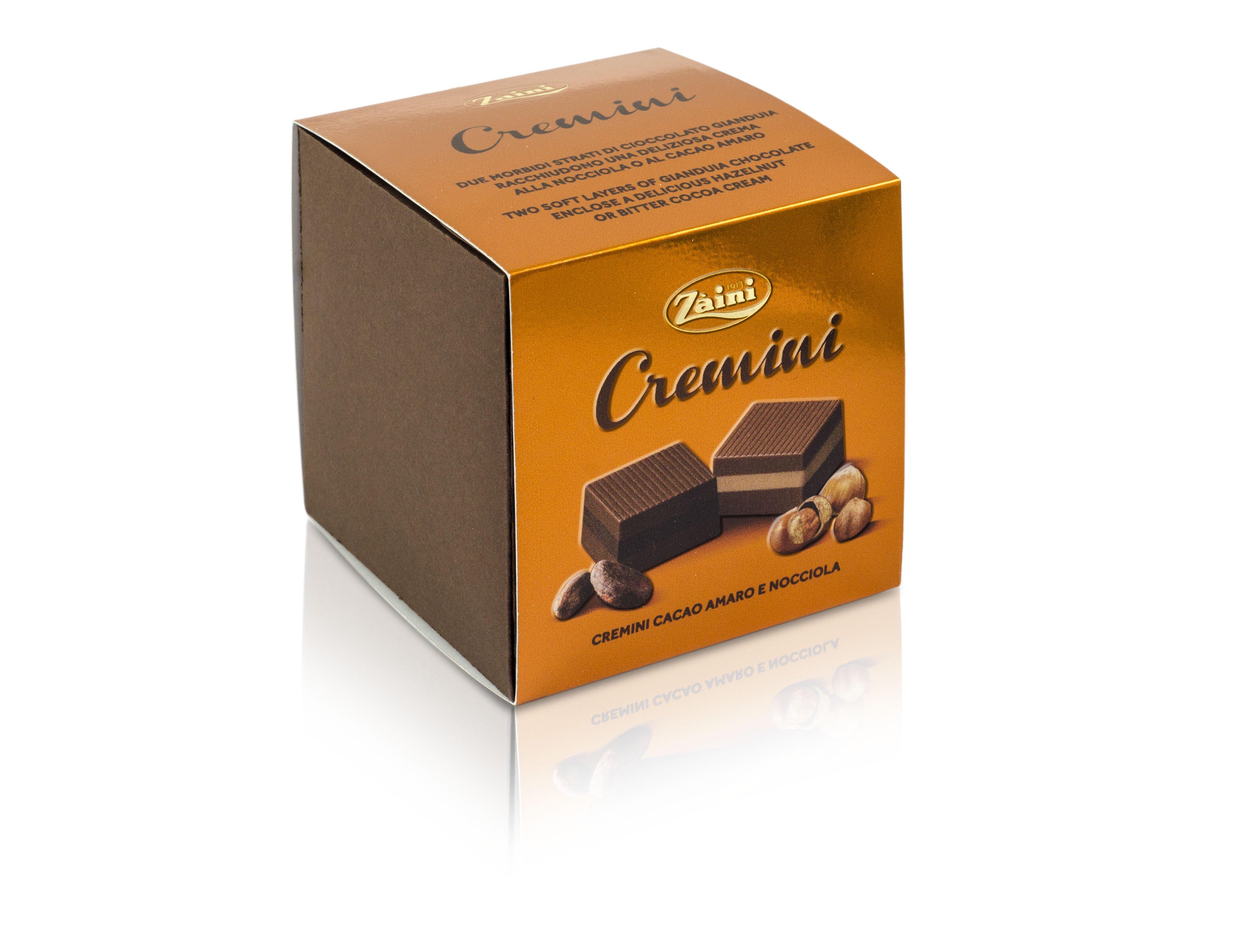 Zaini Cremini Dark Cocoa Hazelnut Chocolates 200g