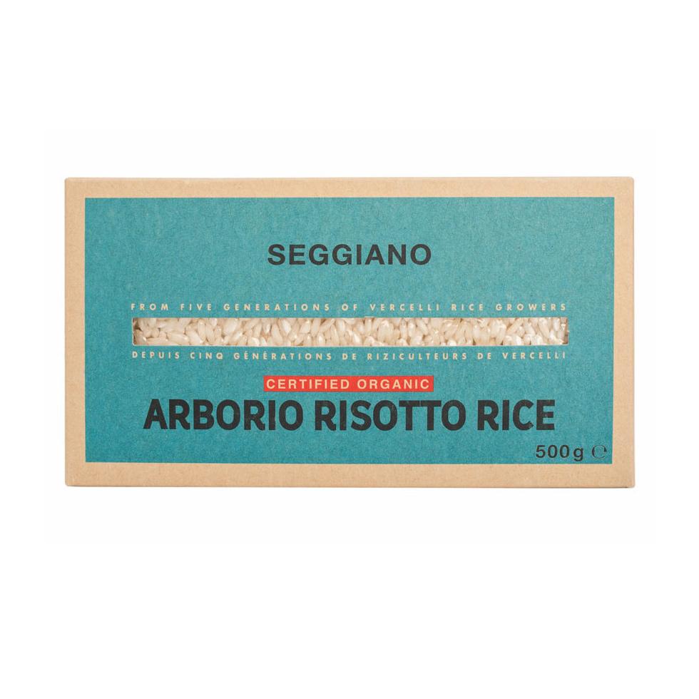 Seggiano Organic Arborio Risotto Rice 500g