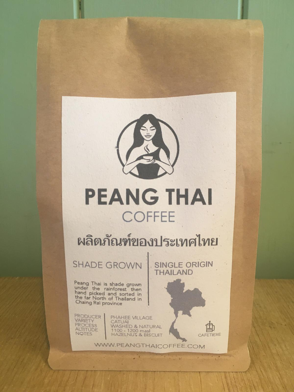 Buxton Roastery Coffee - Peang Thai 225g