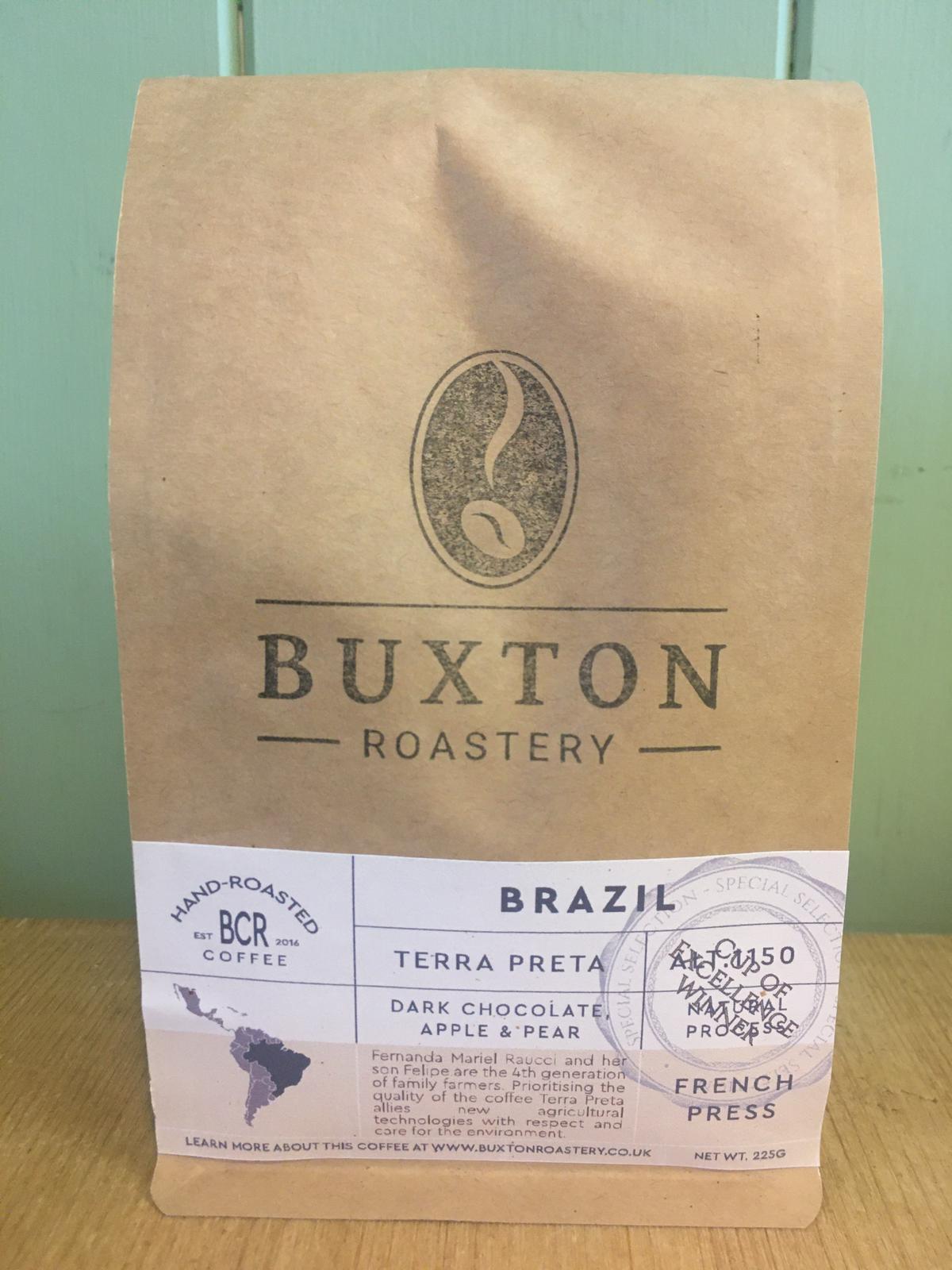 Buxton Roastery Coffee - Brazil Terra Preta 225g