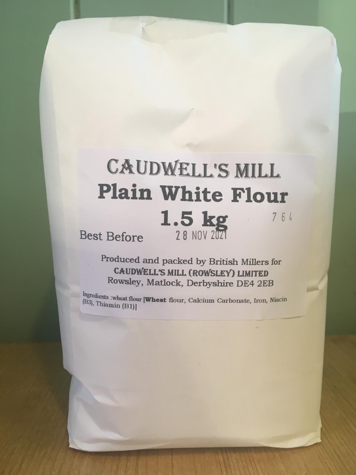 Caudwell's Mill - Plain White Flour 1.5kg