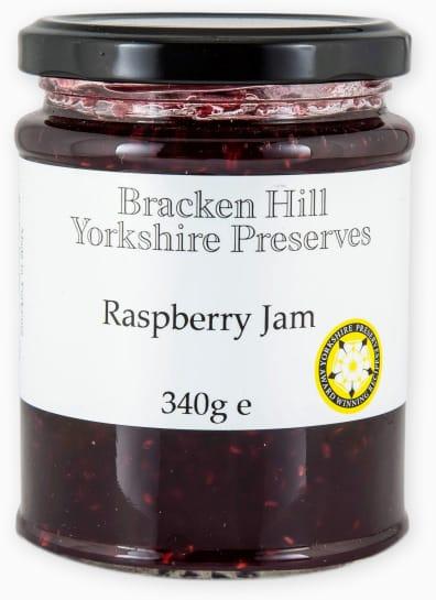 Bracken Hill Yorkshire Preserves - Raspberry Jam 340g