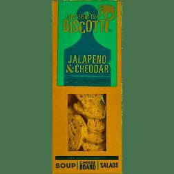 Great British Biscotti - Jalapeno & Cheddar 100g