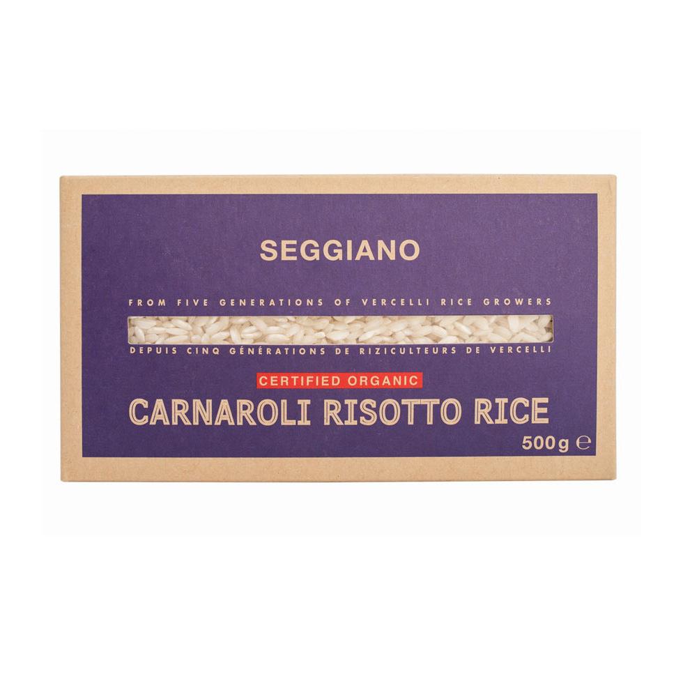 Seggiano Organic Carnaroli Risotto Rice 500g