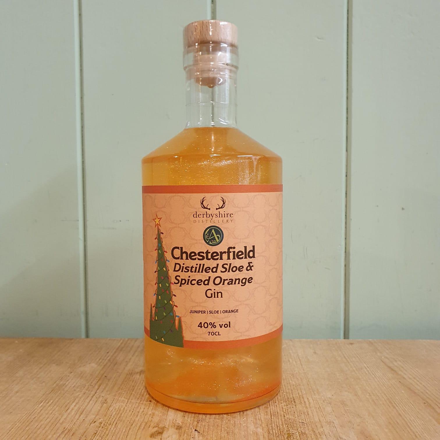 Derbyshire Distillery - Chesterfield Gin Orange Festive Blend 70cl