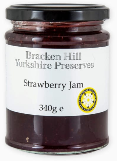 Bracken Hill Yorkshire Preserves - Strawberry Jam 340g