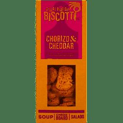 Great British Biscotti - Chorizo & Cheddar 100g