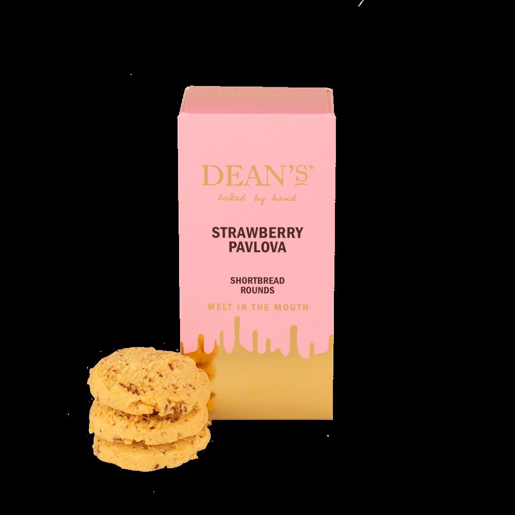 Dean's - Strawberry Pavlova Shortbread Rounds 150g