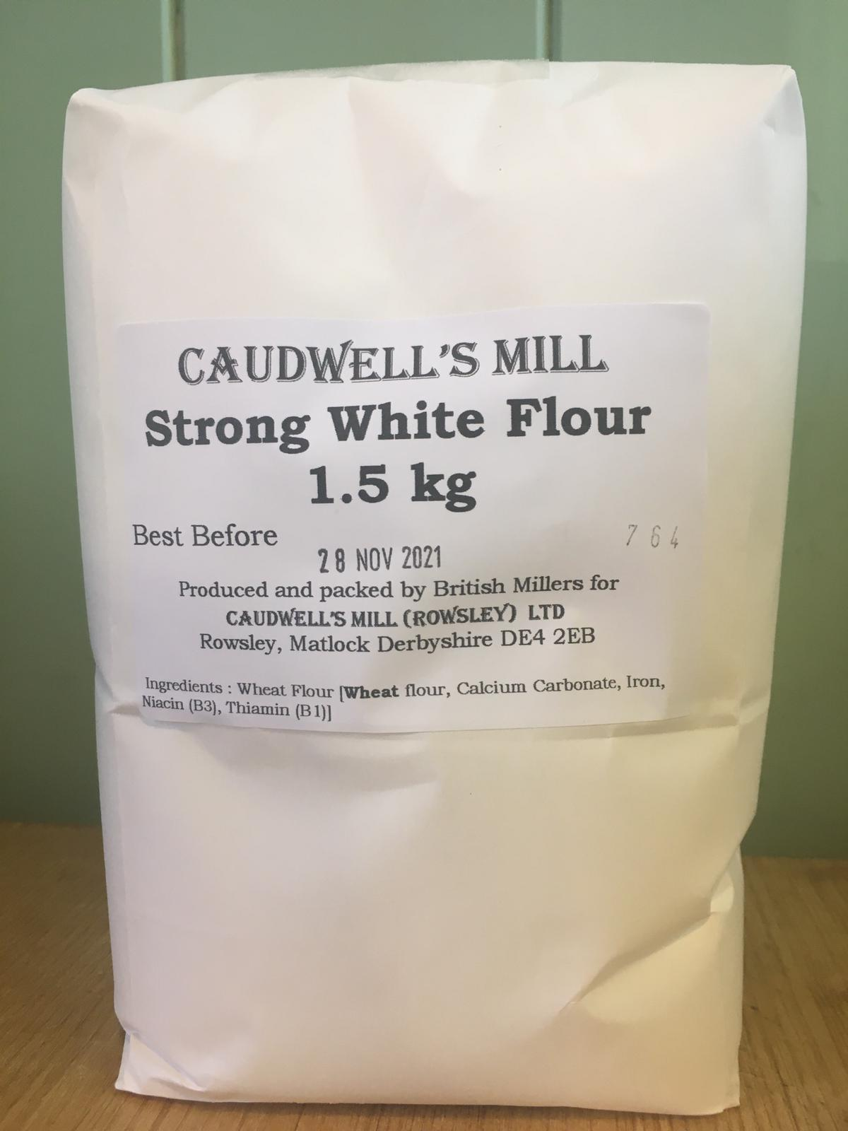 Caudwell's Mill - Strong White Bread Flour 1.5kg