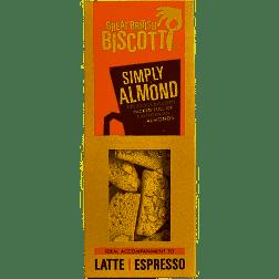 Great British Biscotti - Simply Almond 100g