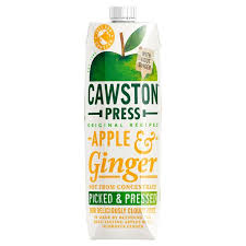 Cawston Press Juice- Apple & Ginger 1ltr