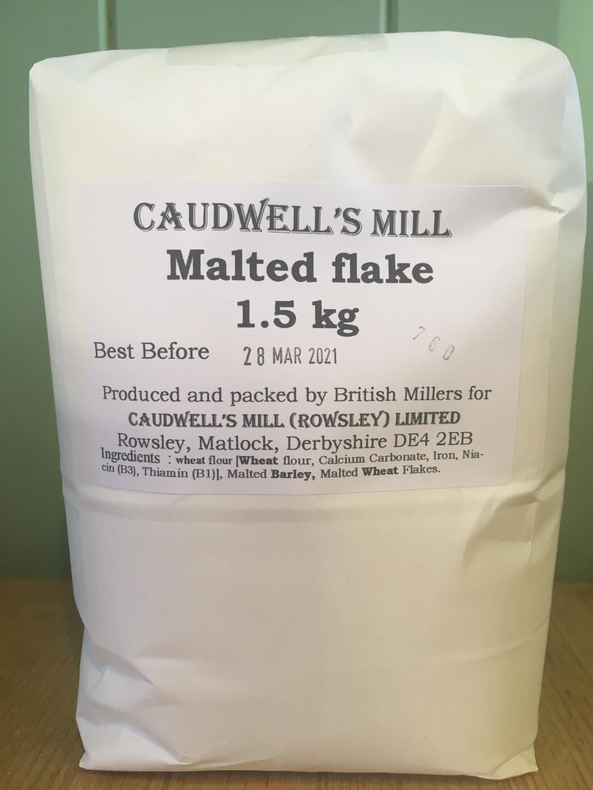 Caudwell's Mill - Malted Flake Bread Flour 1.5kg