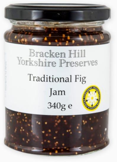 Bracken Hill Yorkshire Preserves - Traditional Fig Jam 340g