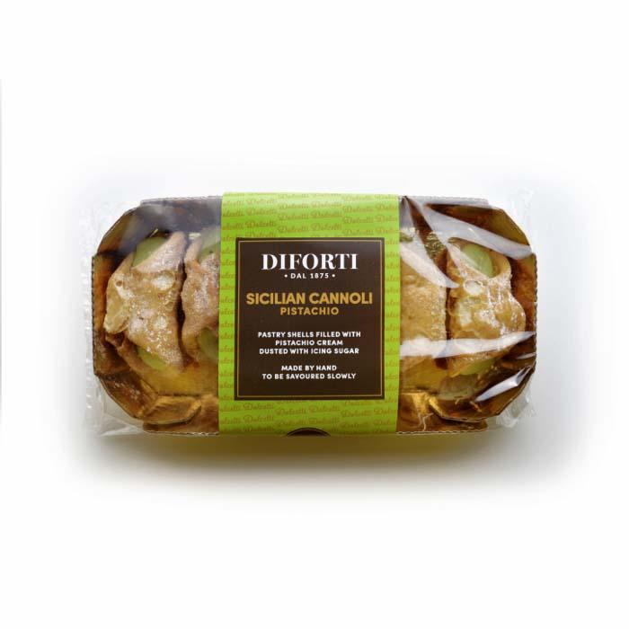 Diforti Pastries - Sicilian Cannoli Pistachio 150g