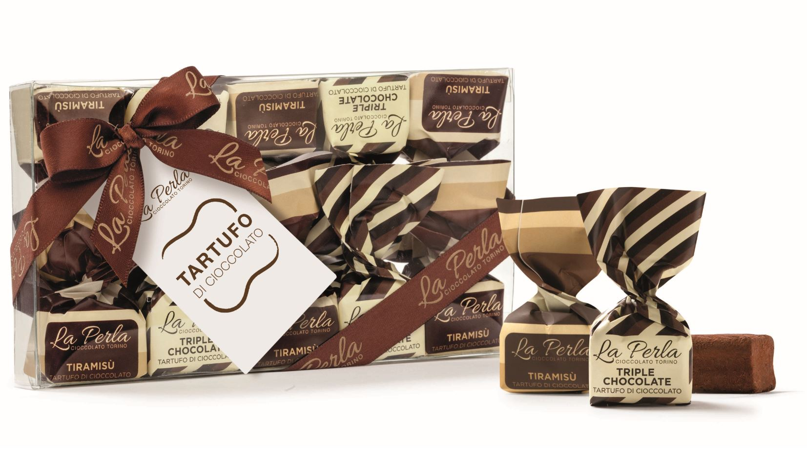 La Perla Tiramisu and Triple Chocolate Truffles 150g