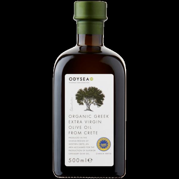 Odysea - Organic Greek Extra Virgin Olive Oil From Crete 500ml