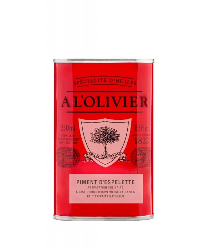 A L'Olivier Espelette Chilli Oil 250ml